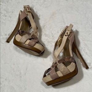 Club Couture Heeled Sandals Size 6